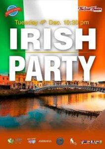 The Irish Theatre Irish Party Salamanca Diciembre 2018
