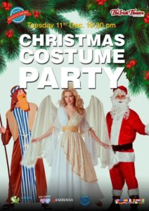 The Irish Theatre Christmas Costume Party Salamanca Diciembre 2018