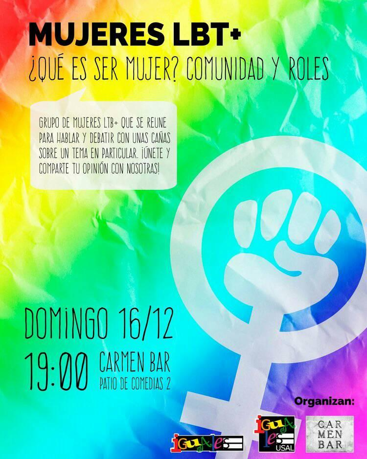 Carmen Bar Qué es ser mujer Comunidad y roles Salamanca Diciembre 2018