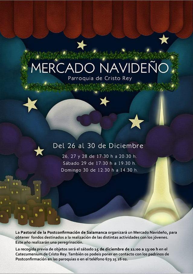 Iglesia de Cristo Rey Mercado Navideño Salamanca Diciembre 2018