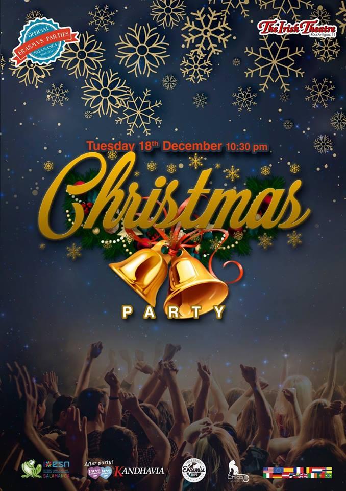 The Irish Theatre Christmas Party Salamanca Diciembre 2018