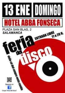 Abba Fonseca Feria del Disco Salamanca Enero 2019
