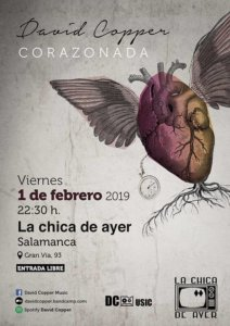 La Chica de Ayer David Copper Salamanca Febrero 2019