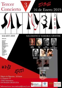 Casino de Salamanca Festival Salmy3 16 de enero de 2019