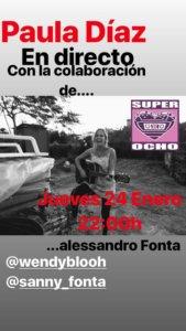 Super 8 Paula Díaz + Alessandro Fonta Salamanca Enero 2019
