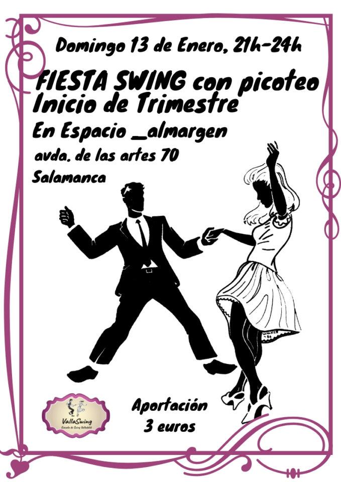 Espacio Almargen Fiesta Swing Salamanca Enero 2019