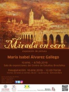 Centro de Estudios Brasileños Mirada en ocre Salamanca Enero febrero 2019
