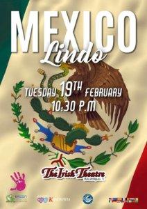 The Irish Theatre Mexican Party Salamanca Febrero 2019