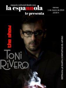 La Espannola Toni Rivero Salamanca Marzo 2019