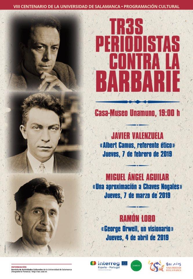 Casa Museo Miguel de Unamuno Tres Periodistas contra la Barbarie Salamanca 2019