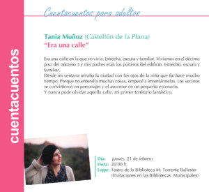 Torrente Ballester Tania Muñoz Salamanca Febrero 2019