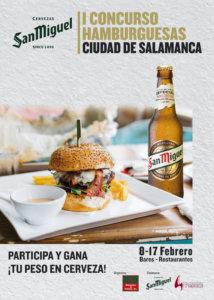 Salamanca I Concurso de Hamburguesas Febrero 2019