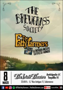The Irish Theatre The Fatty Farmers + The Brewgrass Society Salamanca Marzo 2019