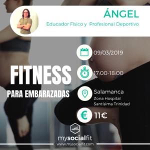 Campo de San Francisco Fitness para Embarazadas Salamanca Marzo 2019