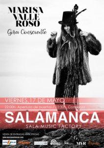 Music Factory Marisa Valle Roso Salamanca Mayo 2019