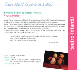 Torrente Ballester Periferia Teatro de Títeres Salamanca Marzo 2019