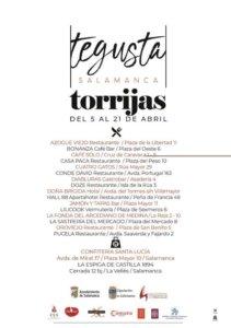 Salamanca III Concurso de Torrijas Abril 2019