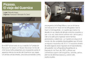 Plaza de Anaya Picasso. El viaje del Guernica Salamanca Abril mayo 2019