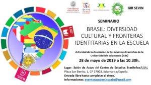 Palacio de Maldonado Brasil. Diversidad cultural y fronteras identitarias en la escuela Salamanca Mayo 2019