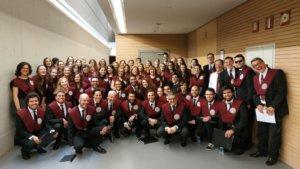 Hospedería Fonseca Coro de la Universidad de Salamanca Junio 2019