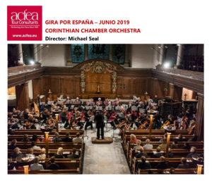 Catedral Vieja Corinthian Chamber Orchestra Salamanca Junio 2019