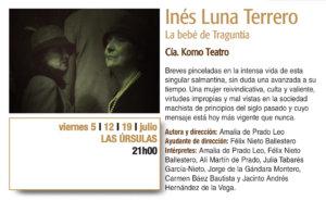 Paseo de las Úrsulas Komo Teatro Plazas y Patios 2019 Salamanca Julio