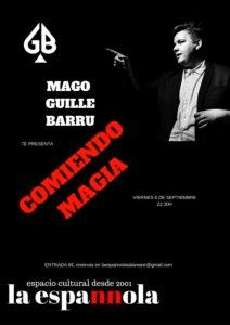 La Espannola Mago Guille Barru Salamanca Septiembre 2019