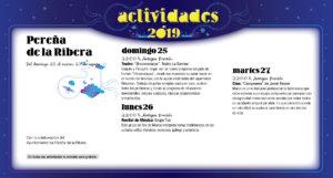 Pereña de la Ribera Noches de Cultura Agosto 2019