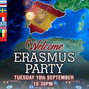 The Irish Theatre Welcome Erasmus Party Salamanca Septiembre 2019