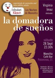 Manolita Café Bar Las noches de Manolita Virginia Imaz Quijera Salamanca Septiembre 2019