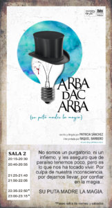 La Malhablada Arba dac arba Salamanca Noviembre 2019