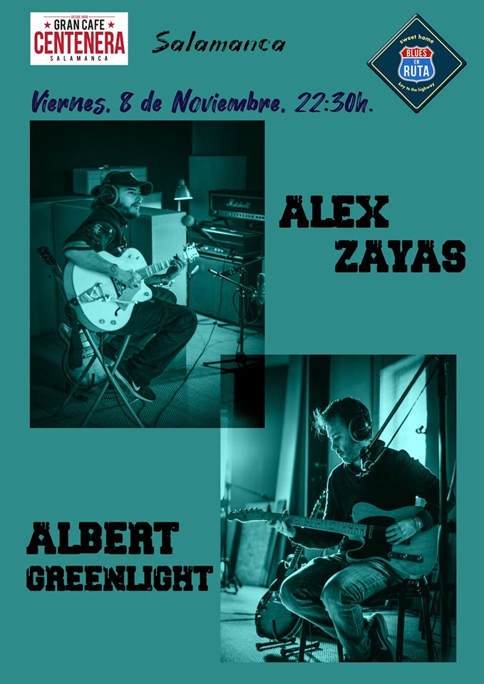 Centenera Álex Zayas & Albert Greenlight Salamanca Noviembre 2019