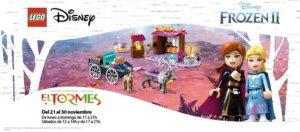 Centro Comercial El Tormes Lego Frozen II Santa Marta de Tormes Noviembre 2019