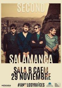 Centro de las Artes Escénicas y de la Música CAEM Second Conciertos Sala B Salamanca Noviembre 2019