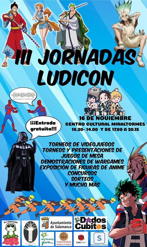 Miraltormes III Jornadas Ludicon Salamanca Noviembre 2019