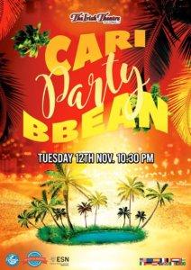 The Irish Theatre Caribbean Party Salamanca Noviembre 2019