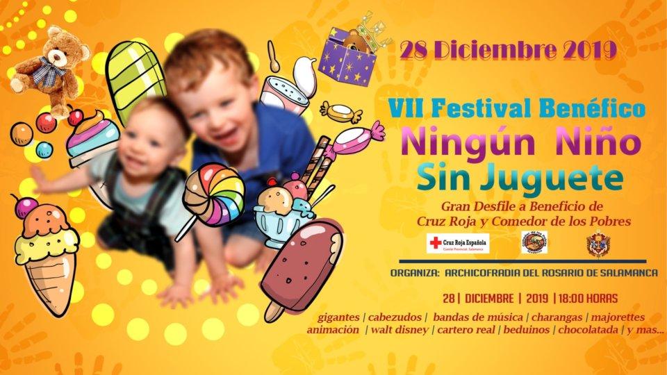 Casa de la Iglesia VII Festival Benéfico Ningún niño sin juguete Salamanca Diciembre 2019