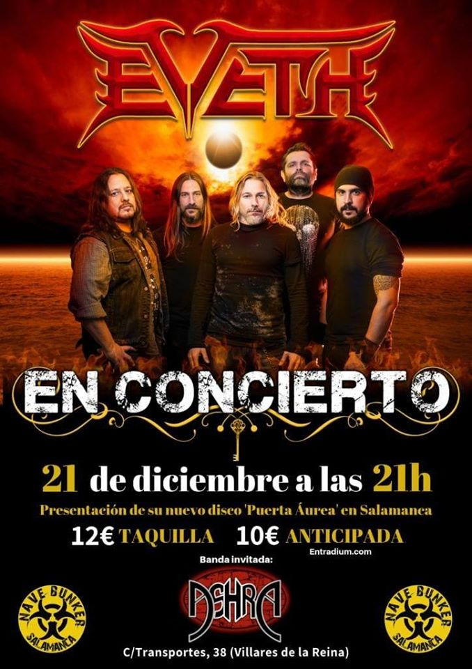 Nave Bunker Eveth + Ashra Villares de la Reina Diciembre 2019