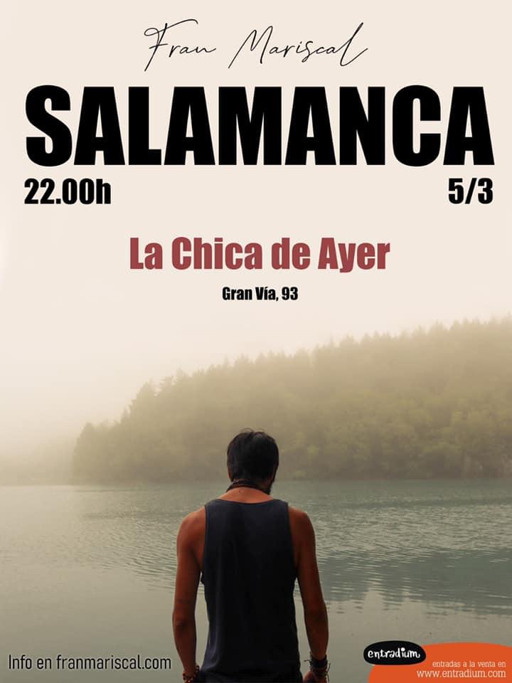 La Chica de Ayer Fran Mariscal Salamanca Marzo 2020