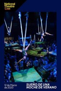 Cines Van Dyck Sueño de una noche de verano Salamanca Marzo 2020