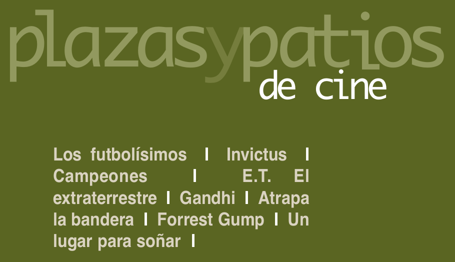 Plazas y Patios de Cine 2020 Salamanca Julio y agosto