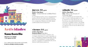 Sanchotello Noches de Cultura Agosto 2020