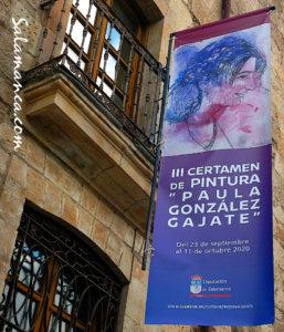 La Salina III Certamen de Pintura Paula González Gajate Salamanca Septiembre octubre 2020