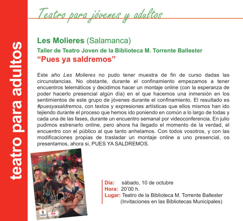 Torrente Ballester Les Molieres Salamanca Octubre 2020