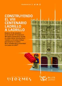Centro Comercial El Tormes Construyendo el VIII Centenario ladrillo a ladrillo Santa Marta de Tormes 2020 - 2021