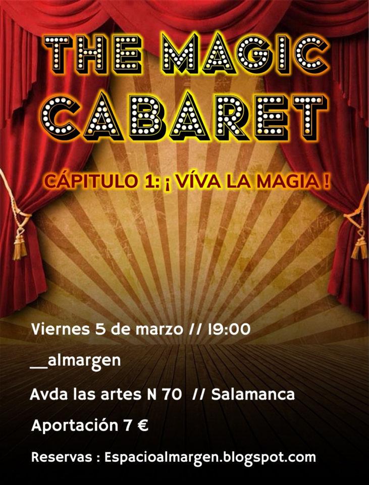 Espacio Almargen The magic cabaret Salamanca Marzo 2021