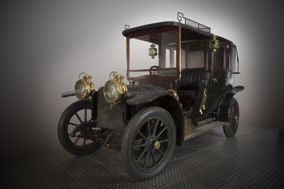 Museo de Historia de la Automoción de Salamanca MHAS Hispano Suiza 30/40 HP Salamanca Abril 2021