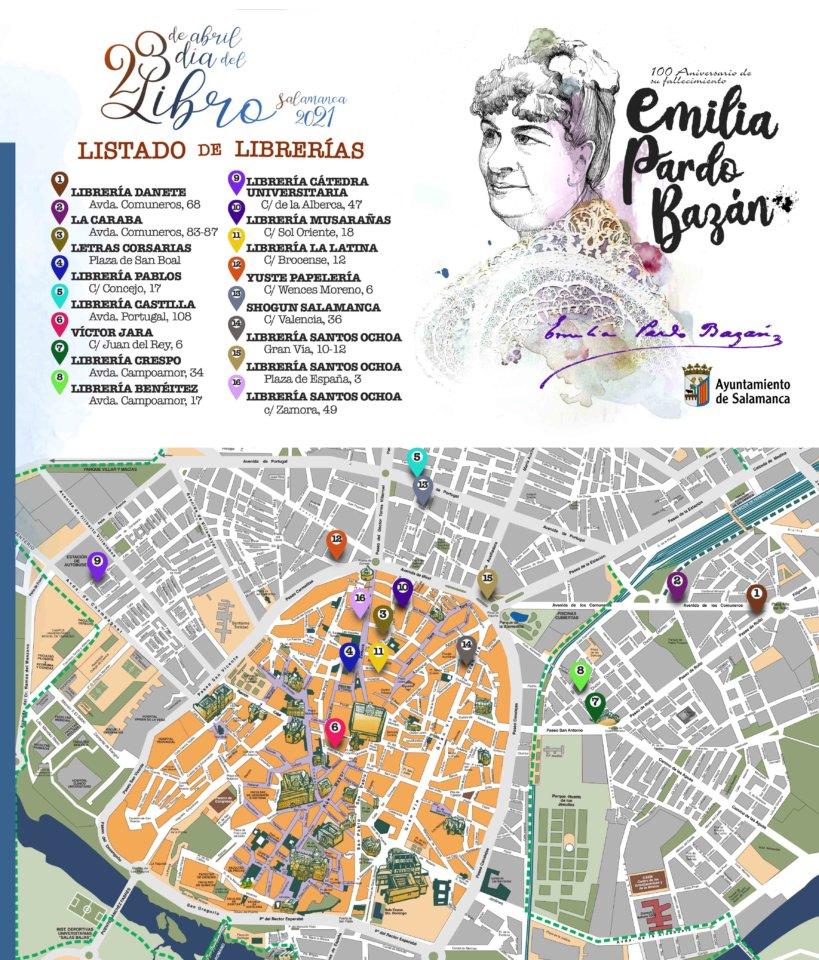 Salamanca Día Internacional del Libro Abril 2021