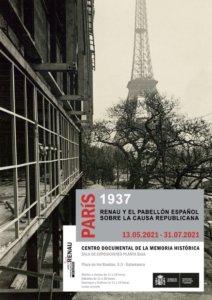 Centro Documental de la Memoria Histórica CDMH París, 1937: Renau y el pabellón español sobre la causa republicana Salamanca 2021