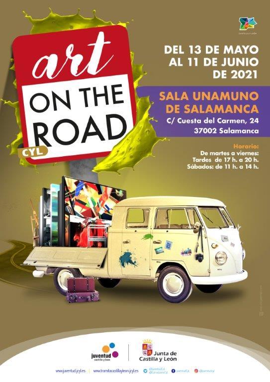 Sala Unamuno Art on the road Salamanca Mayo junio 2021